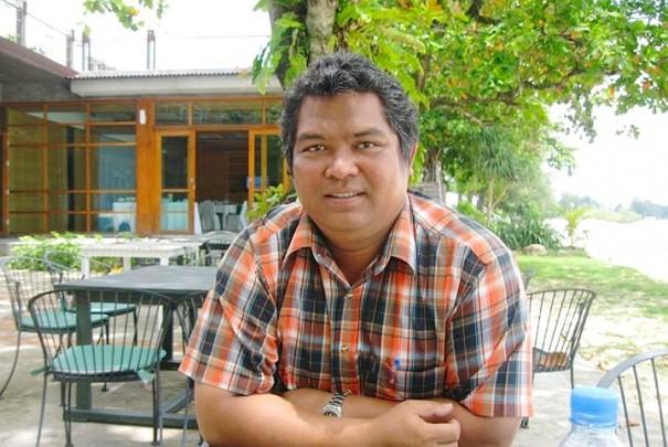 """""""ญรงค์ ไชยโม"""" ผู้ผลักดันกิจกรรมดำน้ำเก็บขยะ GO-ECO Phuket"""