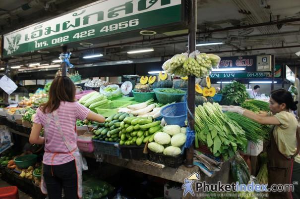 ตลาดสดสาธารณะ 1 เทศบาลนครภูเก็ต (ตลาดน้ำพุ)
