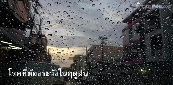 โรคที่ต้องระวังในฤดูฝน