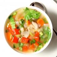 ซุปผัก อาหารเสริมมากคุณประโยชน์สำหรับเด็ก 6-12 เดือน