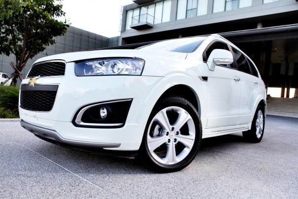 Chevrolet Captiva หรูหรา สปอร์ตเต็มพลัง