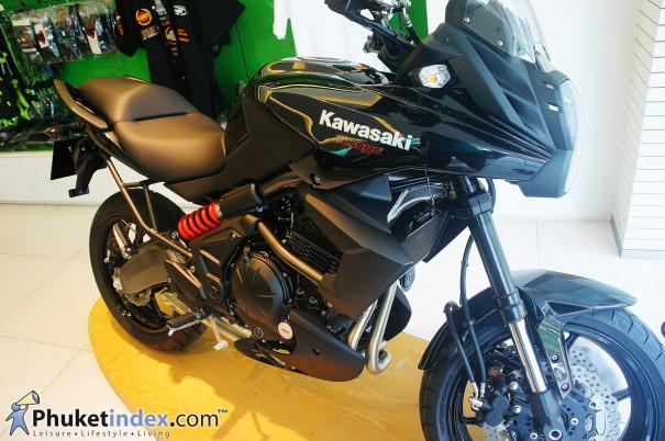 2014 Kawasaki Versys 650 ABS บิ๊กไบค์เครื่องหัวฉีด ทรงโฉบเฉี่ยว