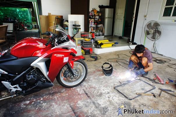 Seree Motoraccess จักรยานยนต์สี่ล้อ มีหลังคา เมดอินภูเก็ต