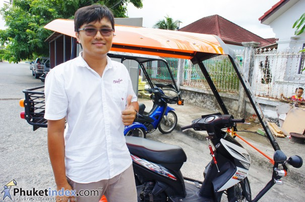 Seree Motoaccess จักรยานยนต์สี่ล้อ มีหลังคา เมดอินภูเก็ต