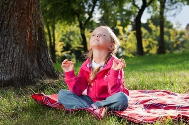 เด็กกับการฝึกสมาธิ