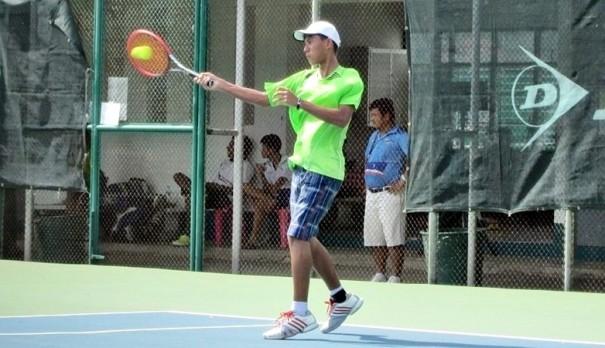 เซเวอรีน สเปียส นักกีฬาเทนนิส เยาวชน จังหวัดภูเก็ต