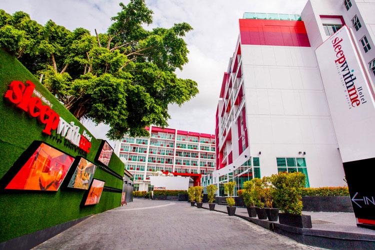 สิทธิชัย ธนากรเจริญ DMD SLEEP WITH ME HOTEL design hotel @patong