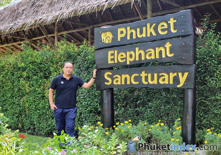 คุณมนตรี ทดแทน ผู้ก่อตั้ง Phuket Elephant Sanctuary