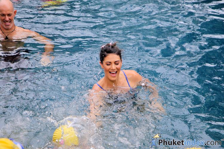 Stephanie Rice  นักว่ายน้ำสามเหรียญทองโอลิมปิกชาวออสเตรเลีย