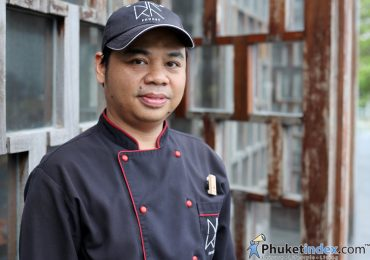 เชฟวิษณุ โขนทอง Executive Sous Chef, The Naka Phuket Resort and Spa