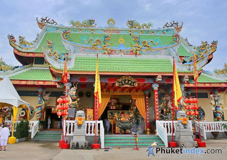 ศาลเจ้ากวนอู นาบอน สักการะเทพเจ้าแห่งความซื่อสัตย์ โชคลาภ บารมี