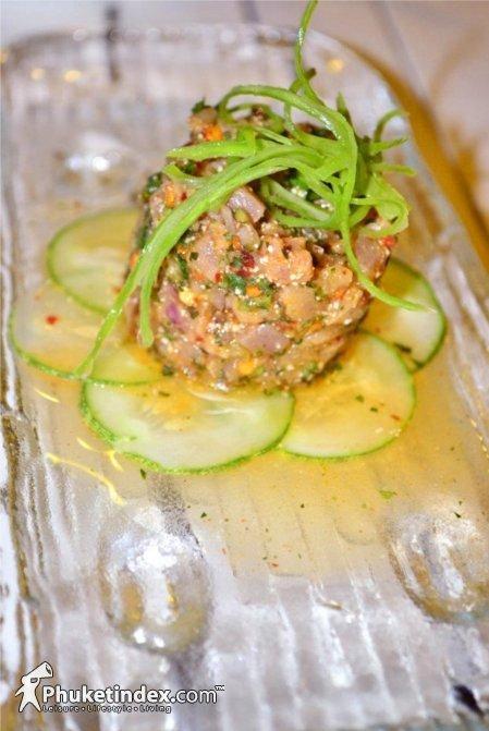 Spicy tuna salad Isaan Style