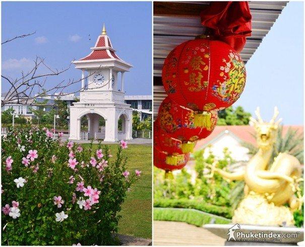 The Gold Sea Dragon @ Queen Sirikit Park Phuket