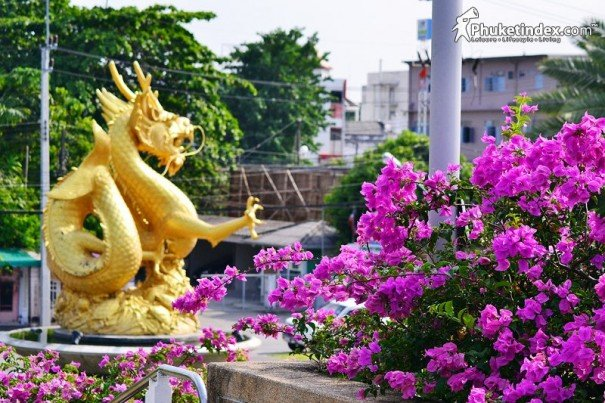The Gold Sea Dragon @ Queen Sirikit Park Phuket