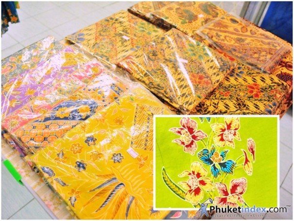 Flower Patterned Sarongs