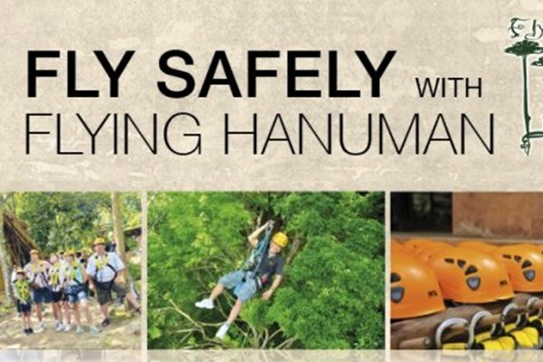 Fly safely with Flying Hanuman
