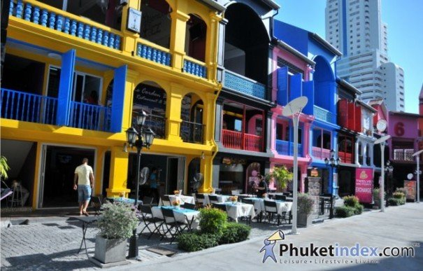 Unique Retail Spaces in Patong's Newest Landmark