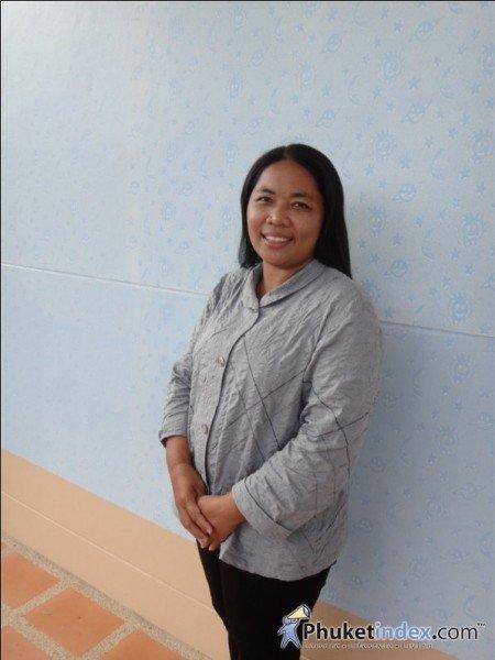 Ms.Aurai Maidukem Almoner of the Phuket Children and Families Home