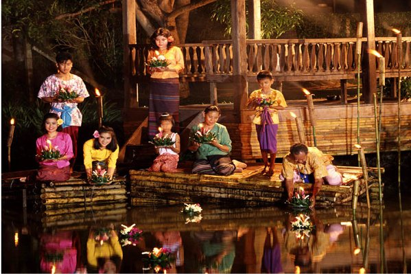 The fabulous Loy Krathong Festival