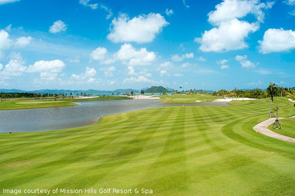 A golfing holiday in a tropical paradise