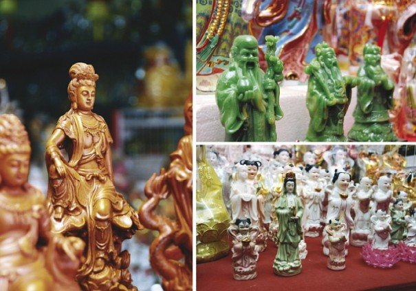 Sacred items of the Chinese Hokkien