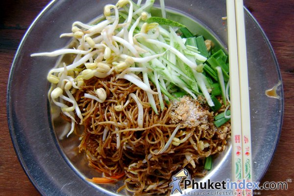 Phuket-styled Coconut milk noodles