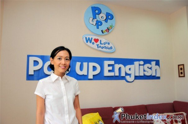 """Panjama Leamsuwan"" of Pop Up English Language Centre  - Play & Learn English Program"