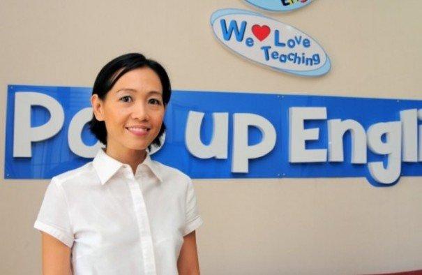 """Panjama Leamsuwan"" of Pop Up English Language Centre  – Play & Learn English Program"