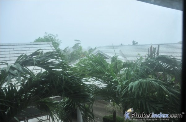 It's raining in Phuket, what can you do?