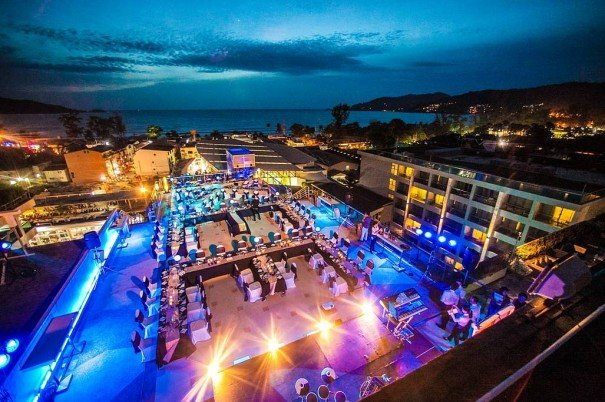 The KEE Sky Lounge Phuket's Most Unique Rooftop Venue