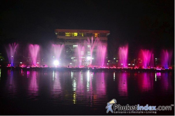 Light, Water & Sound Extravaganza @ Saphan Hin Park