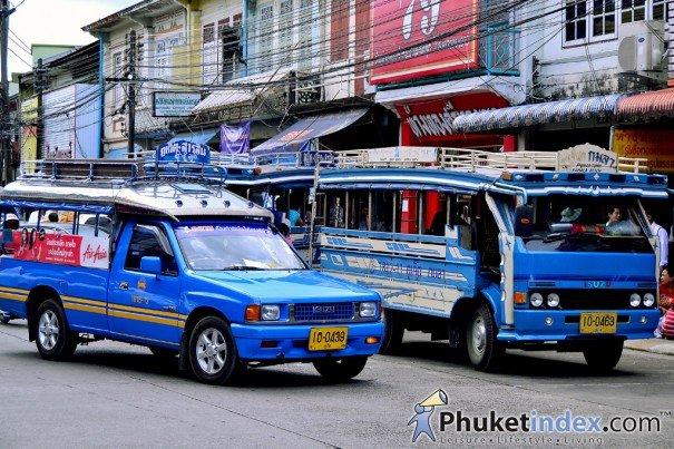 Introducing the Song Taew Phuket