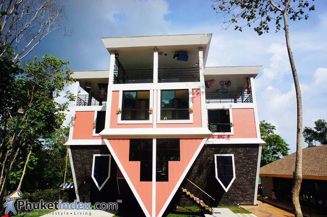 The upside down house where childhood dreams become The upside house