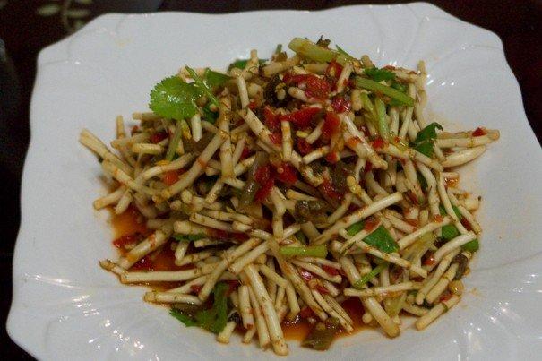 Houttuynia cordata Salad