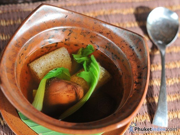 Vegetarian food: Takieng Restaurant @ Renaissance Phuket Resort & spa