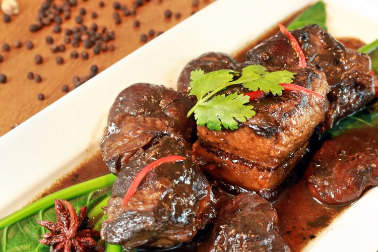 Signature Dish: Stewed Pork Belly Phuket Style (Moo Hong Phuket)