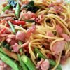 Food Recipes: Spaghetti Pad Kee Mao