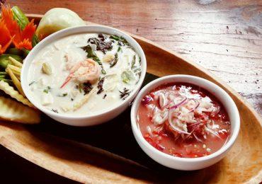 Food Recipes: Namprik Goong Sod or Nam Shoop Yham Phuket
