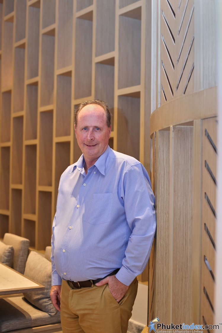 Trevor May - General Manager Phuket Marriott Resort & Spa, Merlin Beach