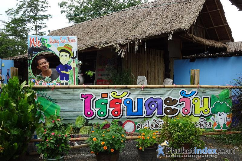 Fruit Buffet at Baan Rai Rub Tawan