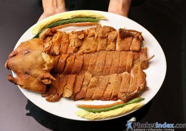 Hong Kong Suckling Pig at The Royal Kitchen, The Royal Paradise Hotel & Spa