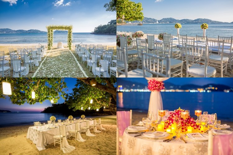 Romantic Beach Wedding In Phuket - Thavorn Beach Village Resort & Spa