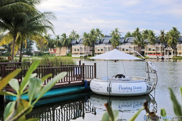 The Floating Donuts @Laguna Canal Village Phuket