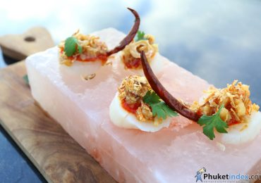 Signature dish: Scallops Sashimi
