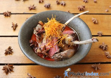 Signature dish: Lamb Duo Massaman