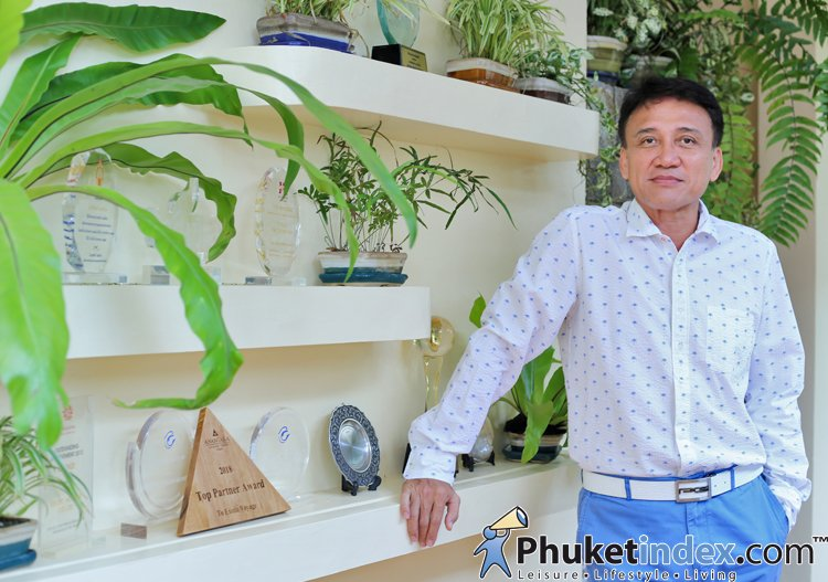 """Phuket as a Destination for Family Tourism"" with President of the Phuket Tourist Association"