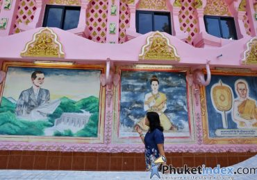 New look of Phra Nang Sang Temple