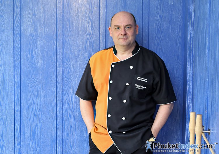 Chef Bernhard Koll – Executive Chef of Dusit Thani Laguna Phuket