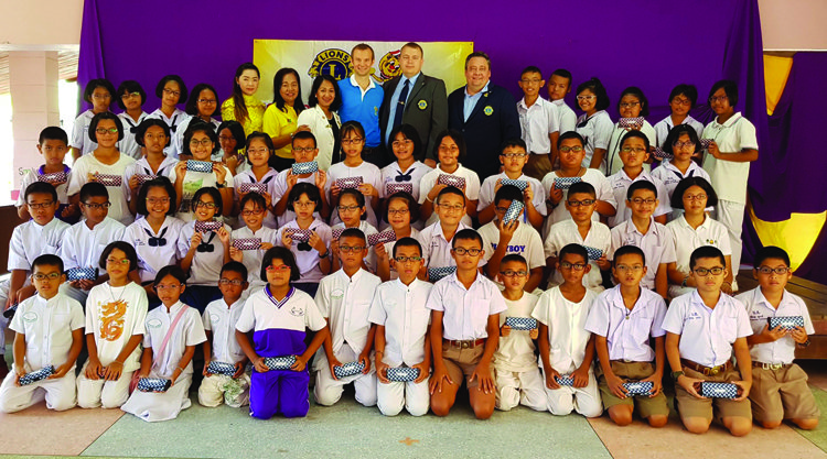 Mr.Igor Protasov - Zone Chairman (zone number 5 Lions Clubs in Phuket province)