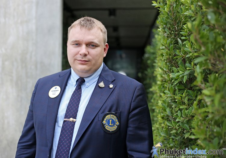 Mr.Igor Protasov  – Zone Chairman (zone number 5 Lions Clubs in Phuket province)
